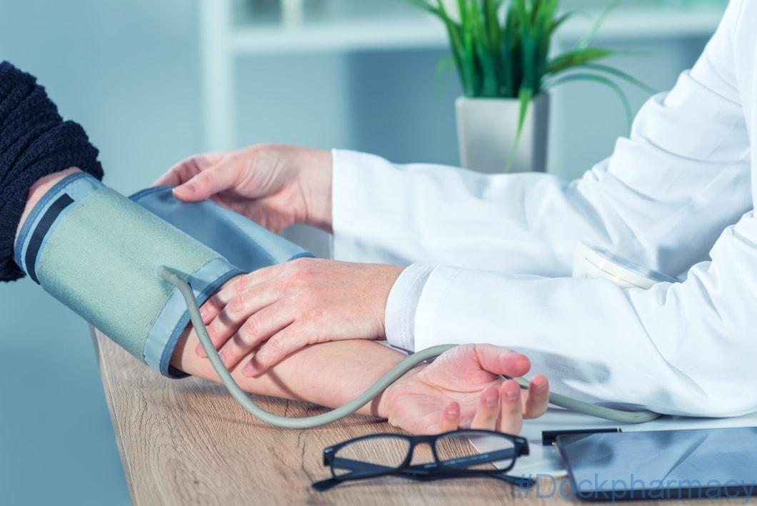 Blood pressure check service