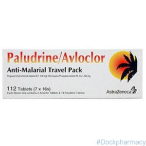 paludrine avloclor travel pack malaria prophylaxis tablets