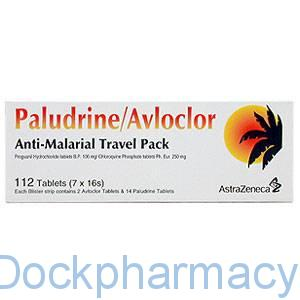Paludrine / avloclor antimalarial tablets