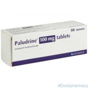 Paludrine malaria tablets