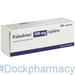 Paludrine antimalarial tablets