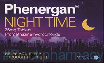 phenergan night time tablets