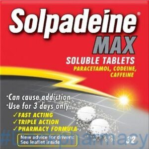 Solpadeine Max Soluble, 32 Tablets