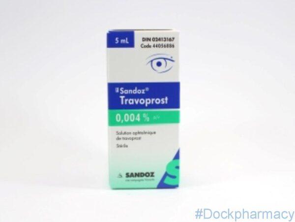 travoprost 0.004 eye drops