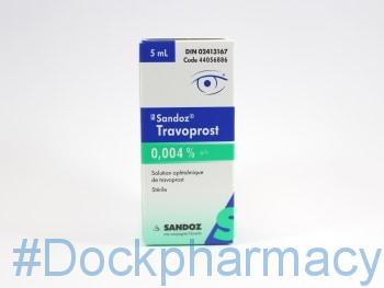 travoprost eye drops for glaucoma treatment