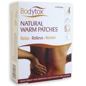 Bodytox natural warm patches