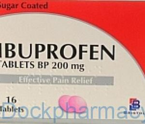 Bristol Labs Ibuprofen 200mg , 16 Tablets