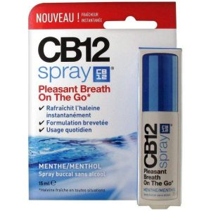CB12 Oral Spray Mint 15Ml Alcohol Free