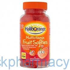 Seven Seas 6 Haliborange, 30 Fruit Softies
