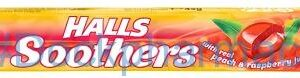 Halls Soothers Peach And Raspberry, 45g