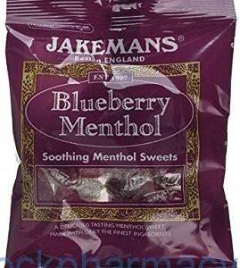 Jakemans Blueberry Menthol, 100g