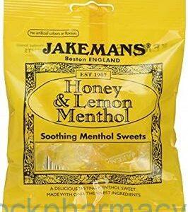 Jakemans Honey & Lemon, 100g