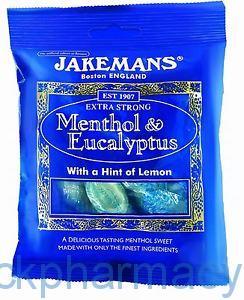 Jakemans Menthol & Eucalyptus, 100g