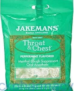 Jakemans Peppermint Menthol, 100g