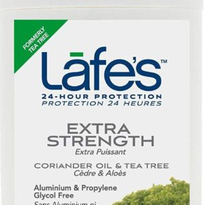 Lafe's natural deodorant Twist Stick, Extra Strength