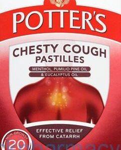 Potters Chesty Cough, 20 Pastilles