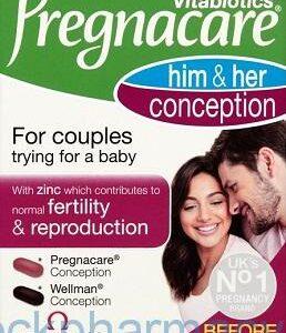 Pregnacare Him & Hers, 60 Tablets [Vitabiotics]