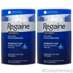 Regaine For Men Foam Triple pack,  3 x 73ml