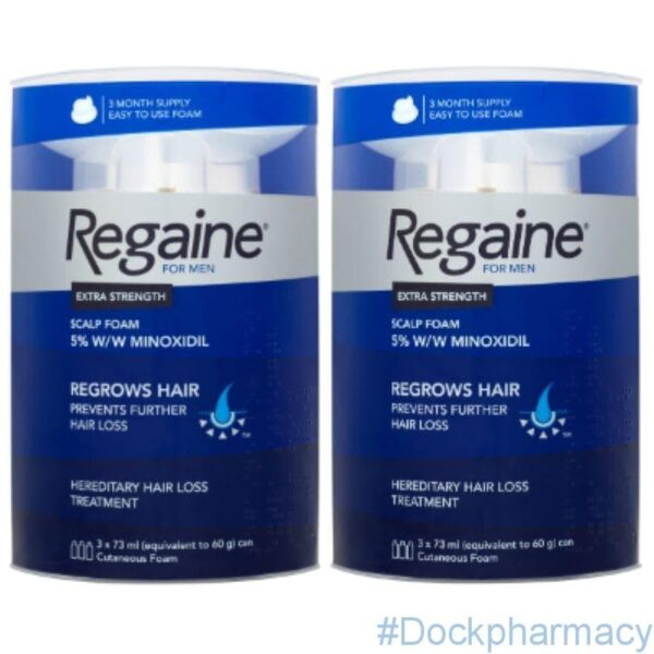 Regaine for men foam 3 months
