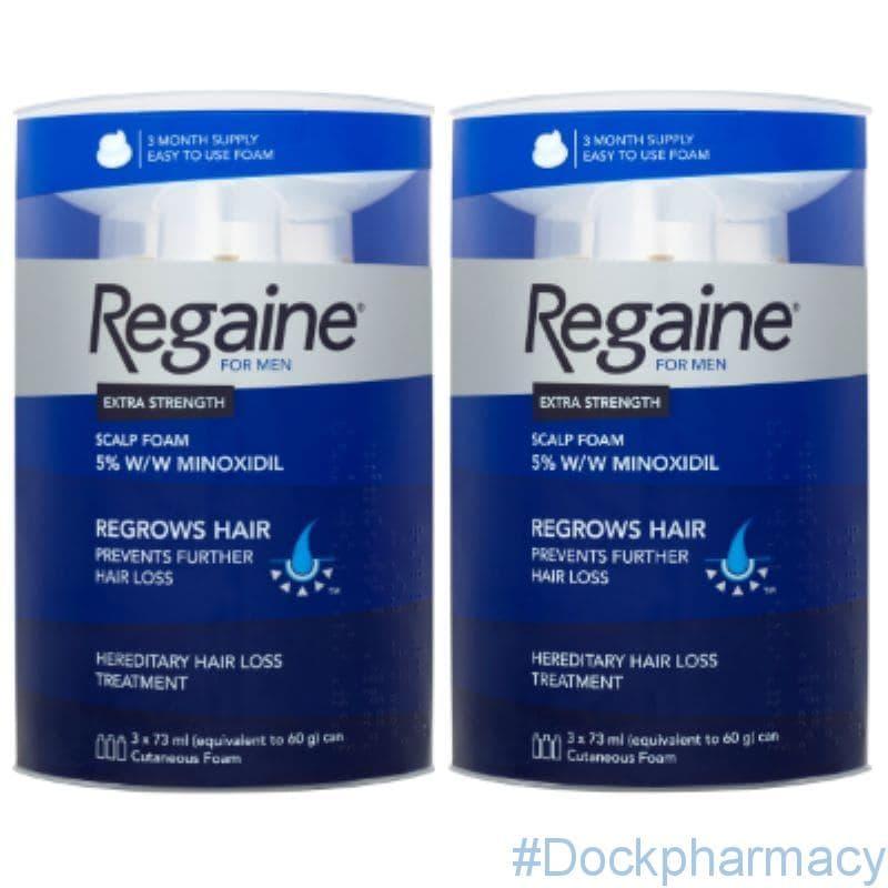 Regaine For Men Foam Triple pack,  3 x 73ml