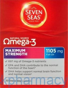 Seven Seas Omega 3 Max Strength, 30 Tablets