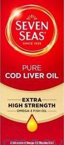 Seven Seas Cod Liver Oil Liquid, 450ml