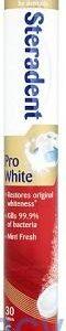 Steradent Pro White, 30 Dissolvable Tablets