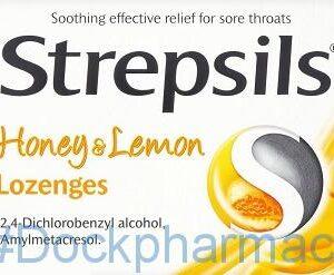 Strepsils Honey and Lemon, 16 Lozenges
