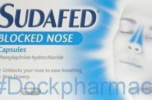 Sudafed Blocked Nose, 12 capsules