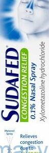 Sudafed Congestion Relief Nasal Spray, 10ml