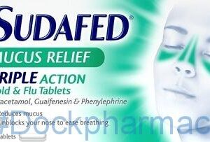 Sudafed Mucus Relief,16 Tablets