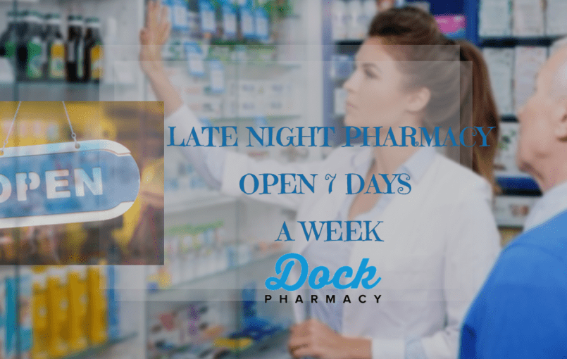 Late Night Pharmacy Dock pharmacy is pleased to offer late night pharmacy services in Tilbury and surrounding areas. The new service will help patients obtain their prescriptions after visiting the hospital or the Out Of Hours Doctors. Patients will not need to wait until the next day before starting their prescribedmedication. Are you out of […]