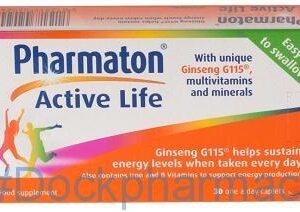 Pharmaton Active Life, 30 Caplets