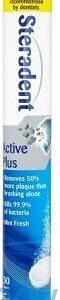 Steradent Active Plus, 30 Dissolvable Tablets