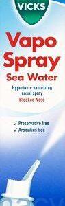 Vicks Vapospray Hypertonic Saline Nasal, 100ml Spray