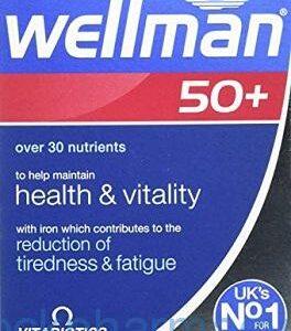 Wellman 50+, 30 Tablets, [Vitabiotics]