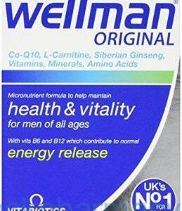 Wellman Health & Vitality, 30 Tablets, [Vitabiotics]