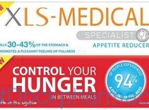 Xls-Medical Appetite Reducer, 60 Tablets