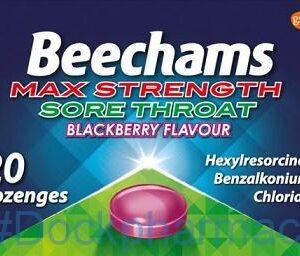 Beechams Max Strength, 20 Lozengers Blackberry