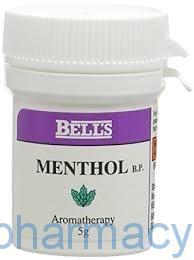 Bells Menthol Crystals, 5g