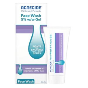 Acnecide Face Wash Acne Treatment Gel