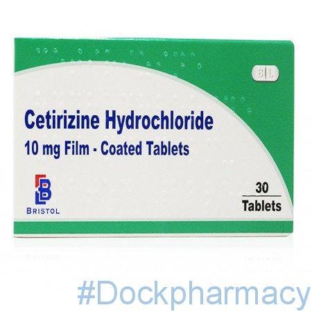 Cetirizine 10mg Tablets 30 Tablet