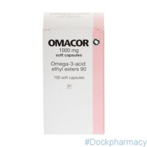 Buy Omacor 1000 mg capsules 100 capsules