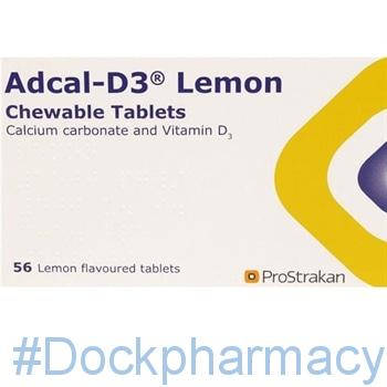 adcal d3 lemon tablets