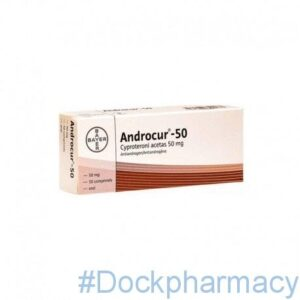 Androcur cyproterone acetate 50mg tablets