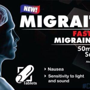 sumatriptan over the counter Migraitan 50mg