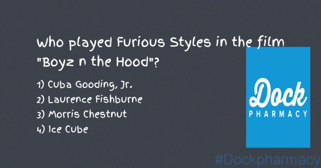 Who played furious styles in boyz in the hood