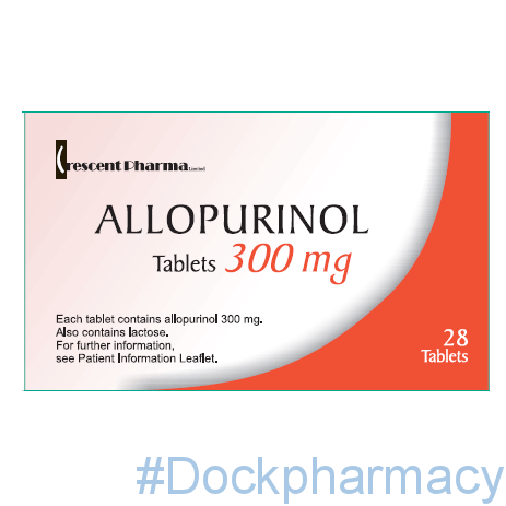 allopurinol tablets 300mg