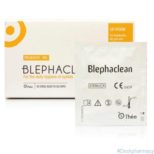 Blephaclean eyelid hygiene wipes for blepharitis
