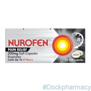 Nurofen pain relief tablets 200mg soft capsules
